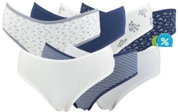 Dámské klasické kalhotky Nicoletta 24757 - 7 ks, velikost XXL