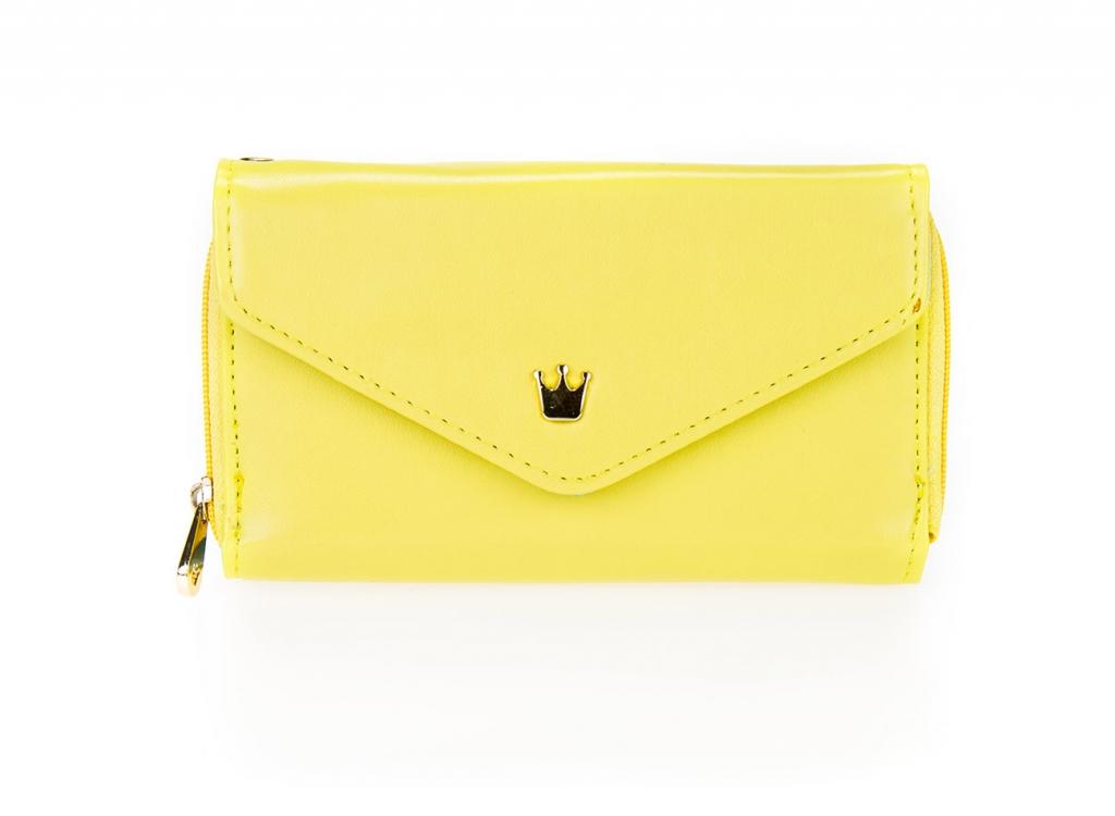 Dámska peňaženka - žltá [168]