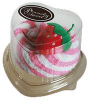Mini ručník ve tvaru dortíku