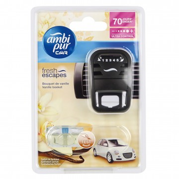 Ambi Pur CAR3 - osvěžovač do auta, Moonlight Vanilla - strojek s náplní 7ml