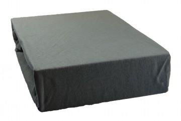 Jersey lepedő 180x200 cm - szürke