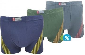 Bambusové boxerky Ellasun F8106 - 1ks, velikost L