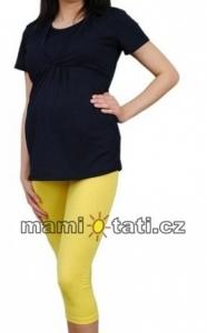 Kismama 3/4 leggings, méret L - sárga