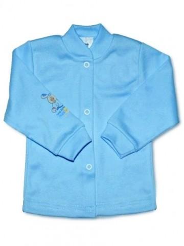 Dojčenský kabátik New Baby tyrkysový