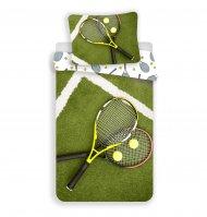 Bavlněné povlečení 140x200+70x90 Tenis