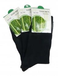 Klasické bambusové ponožky černé