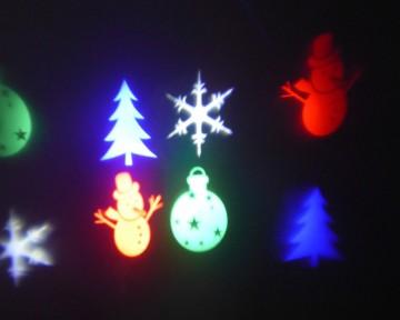 Vánoční laserový světelný systém pro osvětlení domu TA-1009
