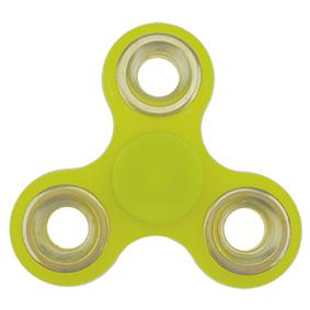 Fidget spinner - světle zelený