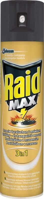 Raid MAX - proti švábům a mravencům, 400ml