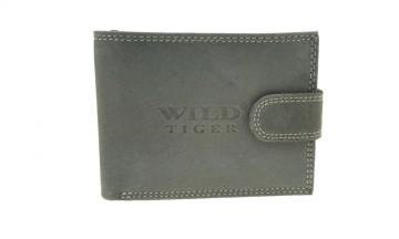 Pánská peněženka Wild Tiger - šedá [993]