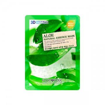 Pleťová maska FoodAholic s přírodními esencemi - Aloe vera, 23g