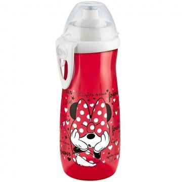 Dětská láhev NUK Sports Cup Disney Mickey 450 ml červená