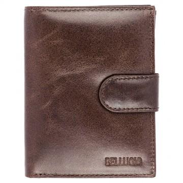 Pánská peněženka Bellugio - tmavě hnědá [946]