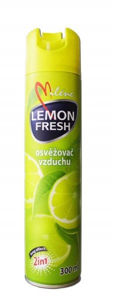 MILÉNE osvěžovač vzduchu - citron, 300ml