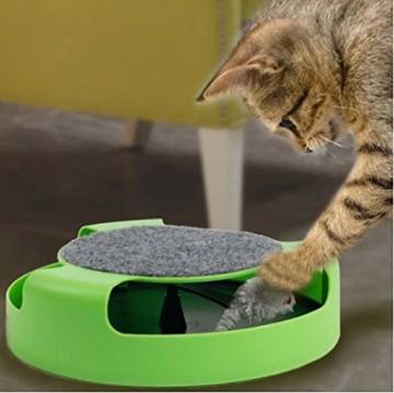 Interaktivní hračka pro kočky - chytání myšky