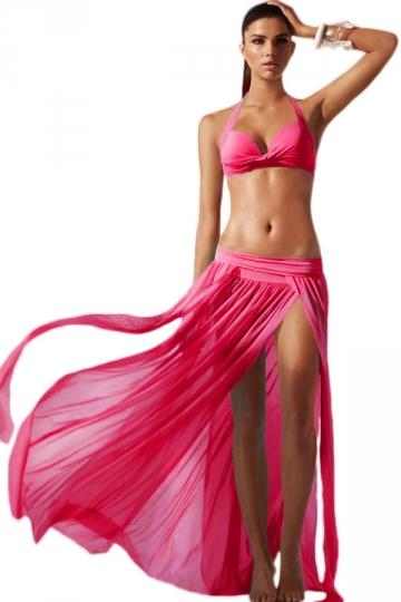 Strandszoknya - rózsaszín