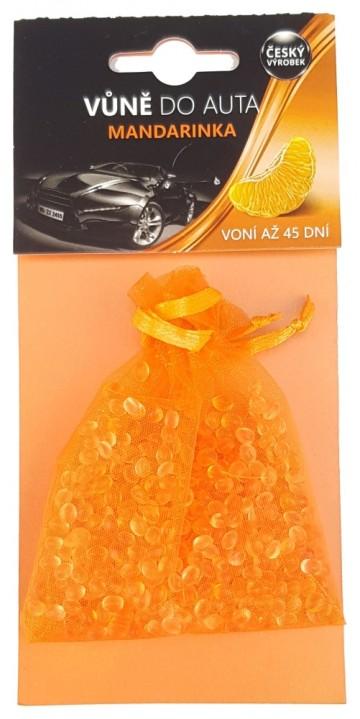 Osvěžovač vzduchu do auta mandarinka - sáček, 20g