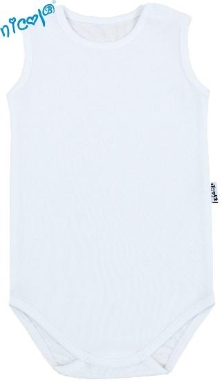 Body na ramínko - bílá, velikost 86