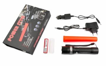 LED svítilna TL-313 s odnímatelným dopravním kuželem