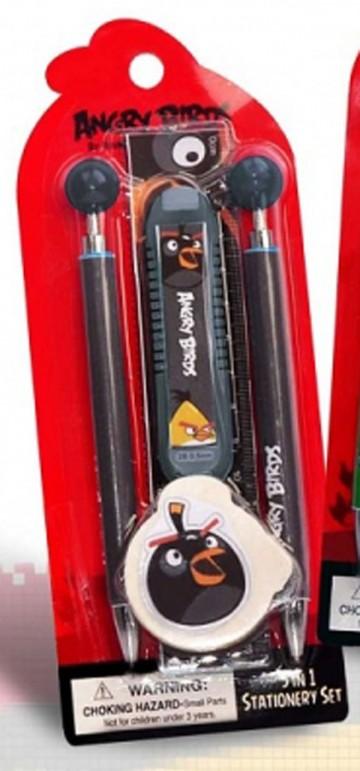 Sada psacích potřeb Angry Birds černá