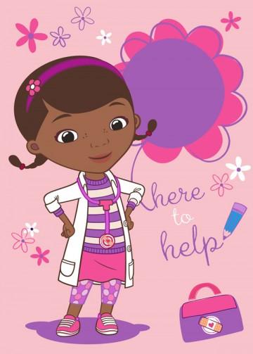 Dětský koberec Doktorka McStuffins Doc to help 95/133