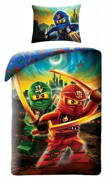 Povlečení Lego Ninjago Kai 140/200, 70/90