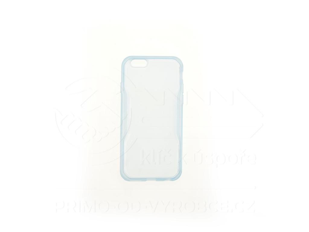 Kryt na telefon IPHONE 6 / 4,7 - Modrý průhledný