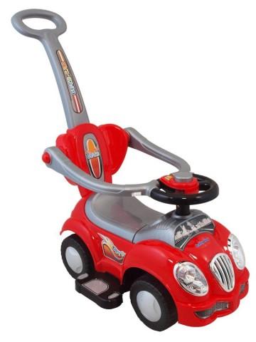 Detské jezdítko 2v1 Baby Mix červené