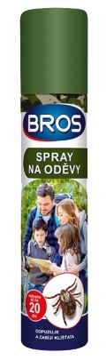 Bros - repelentní spray na oděvy, 90ml