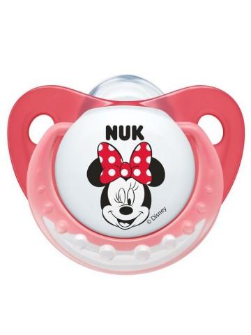 Šidítko NUK Trendine Minnie 0-6m růžové