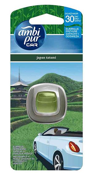 Ambi Pur CAR - odorizant auto, japan tatami - aparat 2ml