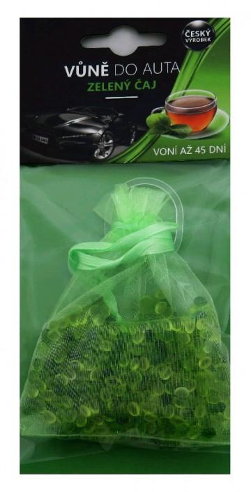 Osvěžovač vzduchu do auta zelený čaj - sáček, 20g