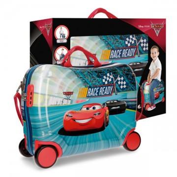 Dětský kufřík na kolečkách Cars Race MAXI
