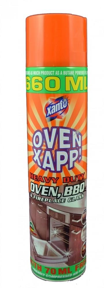 Xanto Power Activ - Čistící pěna na trouby, 660ml