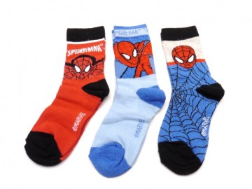 Ponožky - Spiderman 2 - velikost 27-30 - cena za 3 páry