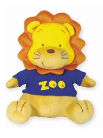 Plyšová hračka s hracím strojčekom Baby Mix lev