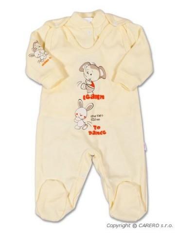 2-dílná souprava New Baby Zajíček béžová