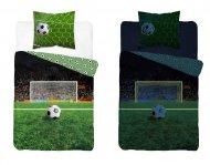 Svítící bavlněné povlečení - Fotbal - 140 x 200 - Detexpol