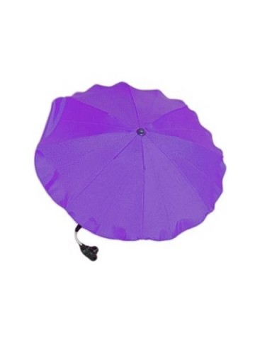 Slnečník na kočík - tmavo fialový