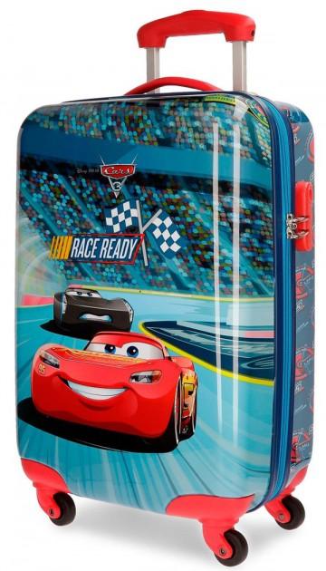 Cestovní kufr ABS Cars Race 55 cm