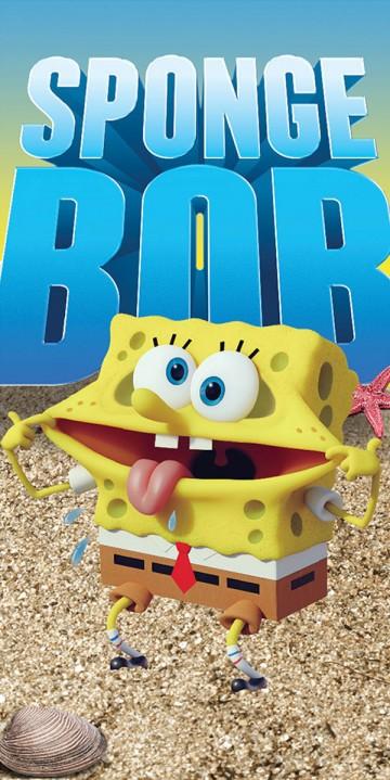 Osuška SpongeBob 70/140