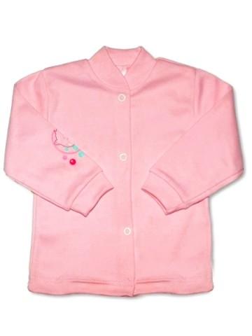 Dojčenský kabátik New Baby ružový