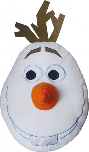 Polštářek 3D Olaf 36/36 cm