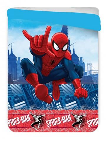 Letní prošívaná deka Spiderman 180/260 cm