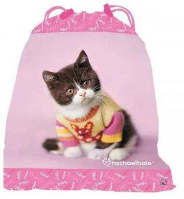 Taška na tělocvik kotě růžový