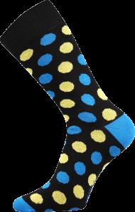Ponožky Puntíky - 1 pár, velikost 43-46