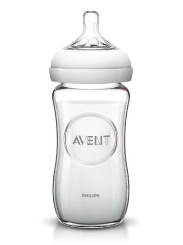 <p>Dojčenská sklenená fľaša Avent Natural 240 ml</p>