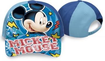 Kšiltovka Mickey modrá vel. 52