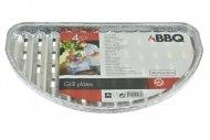 Grilovací hliníkové tácky BBQ - Set 4ks (32x19x1.8cm)
