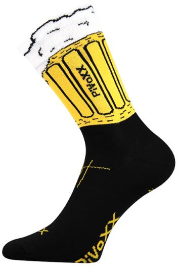 Ponožky - pivo 3 - velikost 39-42 (26-28)